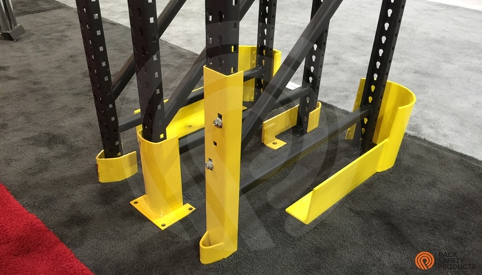 PALLET RACK PROTECTION Steel Rack Post Protector