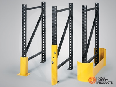 Pallet Rack Safety Accessories - Pallet Rack Protection
