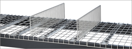 Wire Deck Dividers – Rack Safety Products