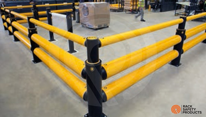 Impact Absorbing Guard Rails Rack Safety Products