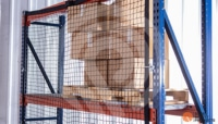 Modular Pallet Rack Safety Netting